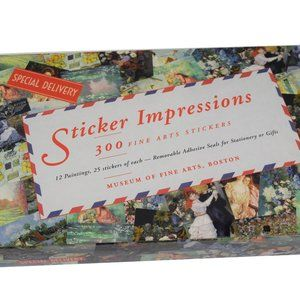 Museum of Fine Arts Sticker Impressions Pack